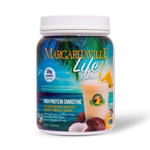 Margaritaville Life Tropical Smoothie Mix Protein Powder - Margaritaville Life