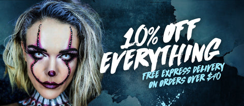 10% Off Everything - Halloween Special
