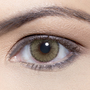 Natural Mel Colour Contact Lense. Available In A Variety Of Durations. Coloured Green