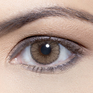 Natural Ocre Colour Contact Lense. Available In A Variety Of Durations. Coloured Brown & Coloured Grey