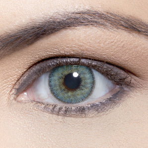 Natural Topazio Colour Contact Lense. Available In A Variety Of Durations. Coloured Blue