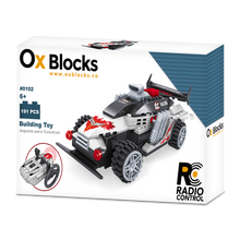 OX RC Racers - Building Toy 191pcs (Batteries not included)
