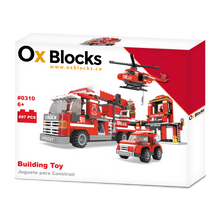 OX Rescue Squad - Building Toy 697pcs