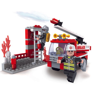 OX Rescue Squad - Building Toy Set 202pcs
