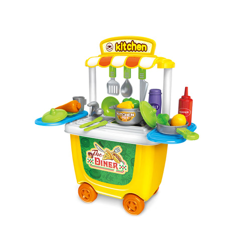Kitchen Cooking Playset by Grooyi