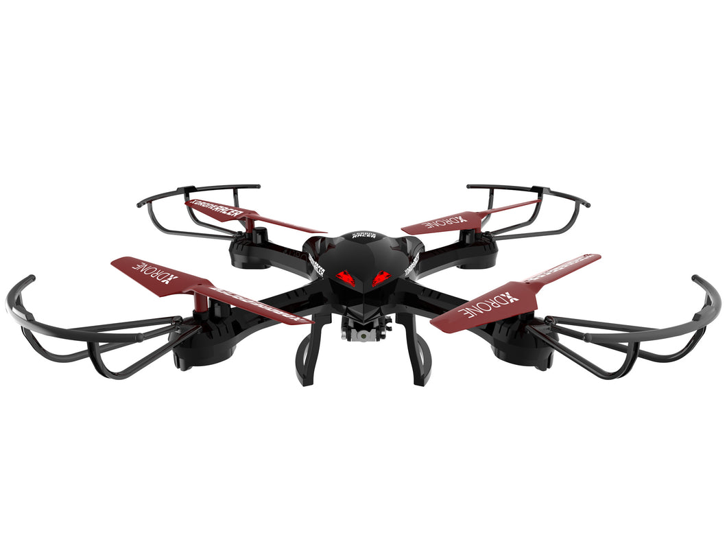 XDrone Racer- FPV RC quadcopter with camera and LCD screen monitor
