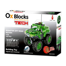 Building Toy 182pcs - Monster Off Road Pull Back