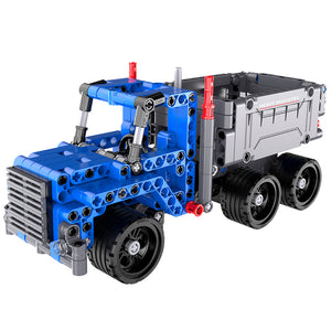 Building Toy 301pcs - Dump Truck Pull Back