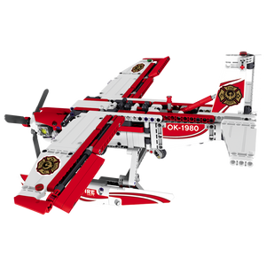 Building Toy 578pcs - 2 in 1 Plane