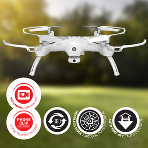 XDrone Play Wifi - RC Drone with FPV Camera, Live Video WiFi Quadcopter