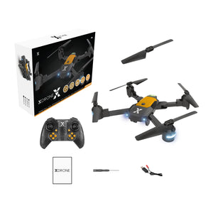 XDrone X-  Foldable drone with altitude hold, one key take off/landing, 3D flip, app control