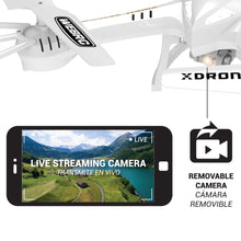XDrone Live- FPV RC drone with HD Wi-Fi camera live feed 2.4GHz 4CH 6-axis gyro quadcopter