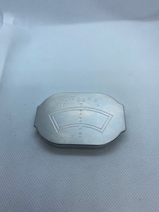 Ford F-250, F-350 ,F-450 6.7, 6.2, billet aluminum windshield washer fluid cap.