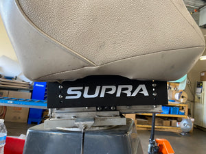 Supra captains chair Adjustable seat riser From 3 3/8 To 4 7/8.