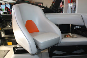 Drivers seat risers for Axis boats Adjustable From 3 3/8 To 4 7/8.
