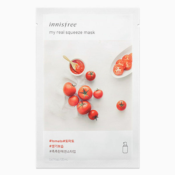 Innisfree Tomato My Real Squeeze Mask 20ml 10pcs