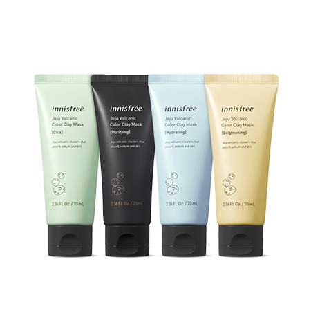 innisfree Jeju Volcanic Color Clay Mask 70ml, , innisfree, KOREASTAGRAM- KOREASTAGRAM  |  BEAUTY IS IN OUR DNA