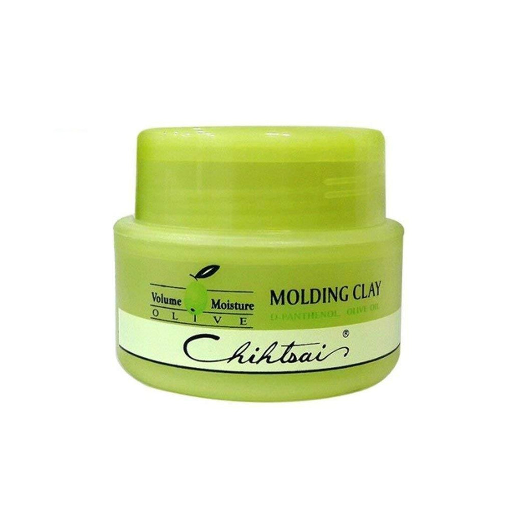Shaan Honq Chihtsai Olive Molding Clay Hair Wax 80ml 2.7Oz Volume Moisture - KOREASTAGRAM