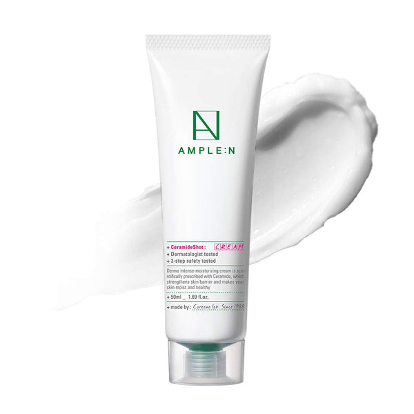 Coreana Ample:n Ceramide Shot Cream 50ml 1.69Oz Moisturizer