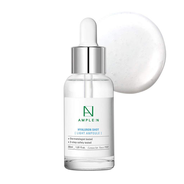 Coreana Ample:n Hyaluron Shot Light Ampoule Moisturizing