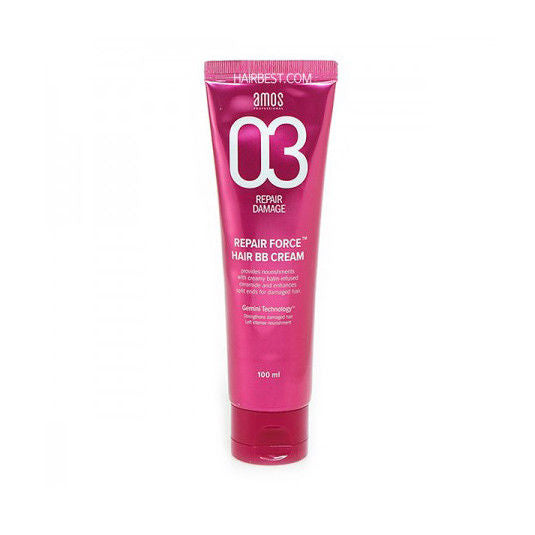 Amore Pacific Amos Repair Force Hair BB Cream 3.3 oz 100 ml for Damaged Hair, , Amore Pacific Amos, KOREASTAGRAM- KOREASTAGRAM  |  BEAUTY IS IN OUR DNA