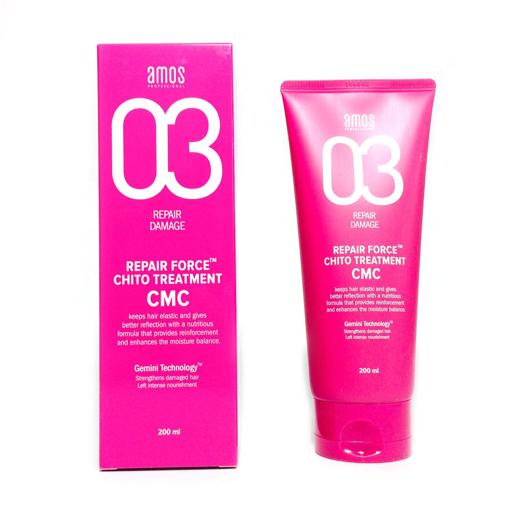Amore Pacific Amos Repair Force Chito Treatment CMC 6.8 oz 200ml Damaged Hair, , Amore Pacific Amos, KOREASTAGRAM- KOREASTAGRAM  |  BEAUTY IS IN OUR DNA