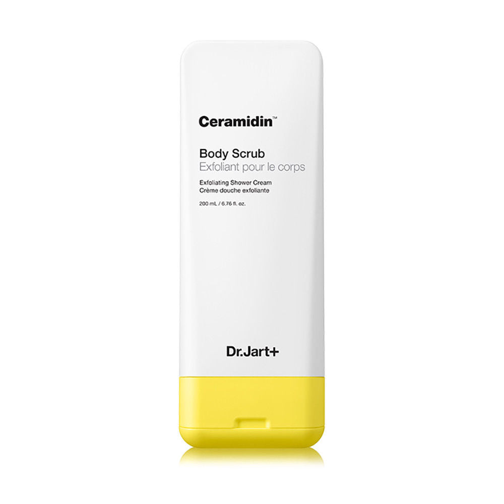 Dr. Jart+ Ceramidin Body Scrub 200ml 6.76oz Exfoliating Shower Cream, , Dr.Jart+, KOREASTAGRAM- KOREASTAGRAM  |  BEAUTY IS IN OUR DNA