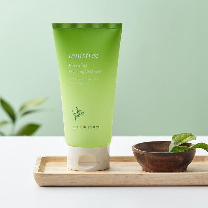 innisfree Green Tea Morning Cleanser 150ml, , innisfree, KOREASTAGRAM- KOREASTAGRAM  |  BEAUTY IS IN OUR DNA