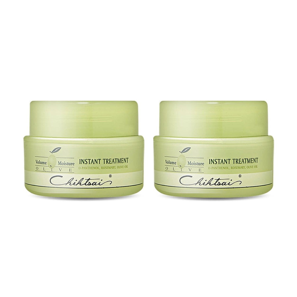 SHAAN HONQ Chihtsai Olive Instant Hair Treatment 150ml 5Oz   2EA Volume Moisture - KOREASTAGRAM