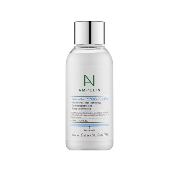 Coreana Ample:n Hyaluron Shot Emulsion 130ml 4.4Oz Wrinkle Care