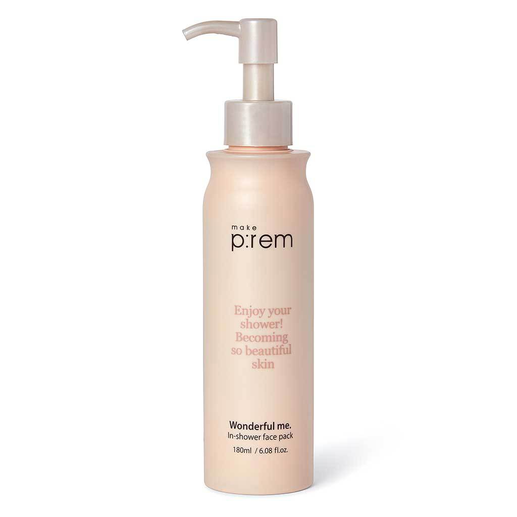 Make p:rem Wonderful me In-shower face pack 180ml 6.08Oz, , Make p:rem, KOREASTAGRAM- KOREASTAGRAM  |  BEAUTY IS IN OUR DNA