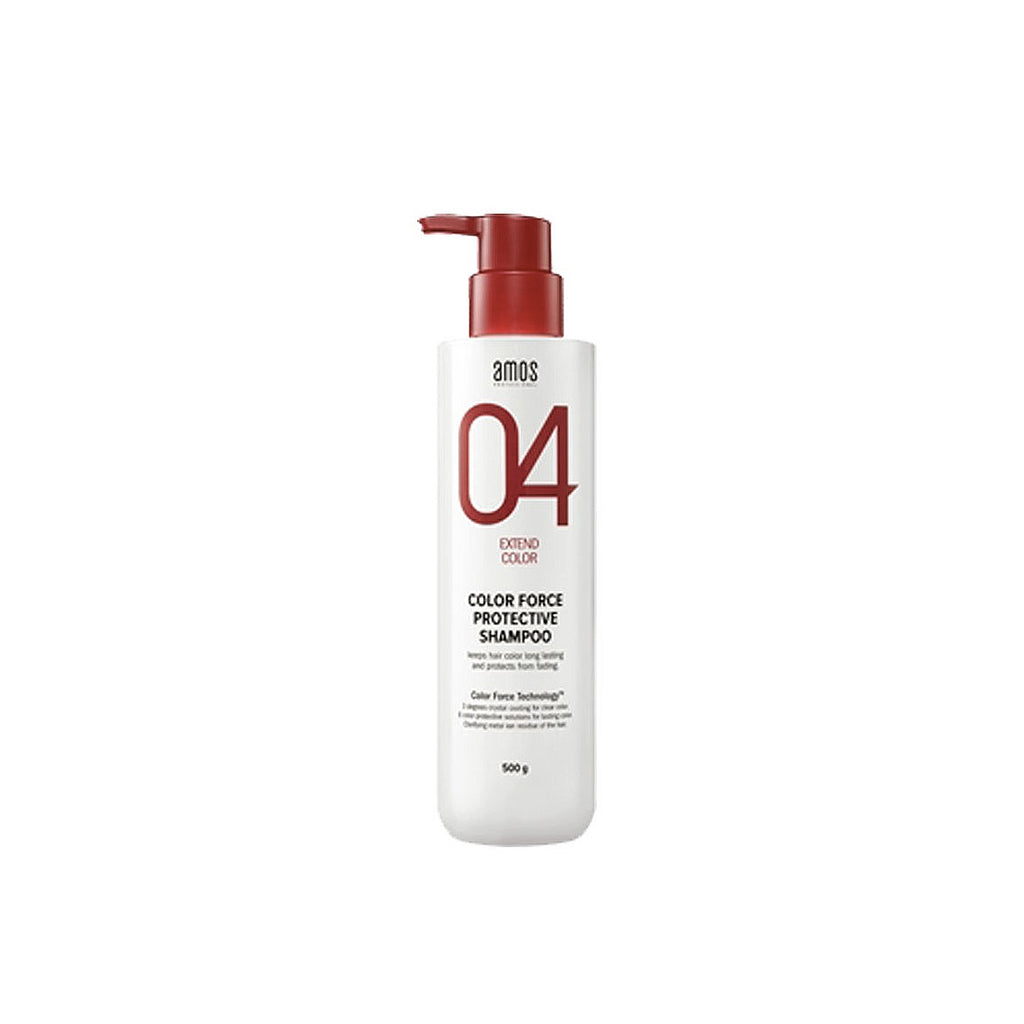 Amore Pacific Amos Color Force Protective Shampoo 17.6 oz 500 g Damaged Hair, , Amore Pacific Amos, KOREASTAGRAM- KOREASTAGRAM  |  BEAUTY IS IN OUR DNA
