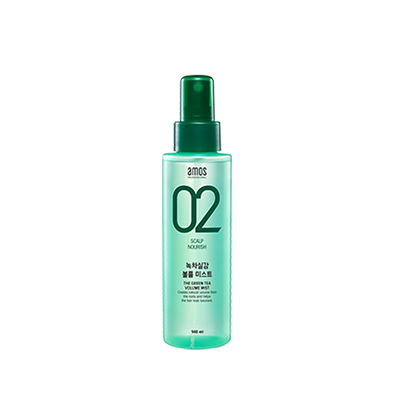 Amore Pacific Amos Feel The Green Tea Volume Mist 140 ml 4.7 Oz, , Amore Pacific Amos, KOREASTAGRAM- KOREASTAGRAM  |  BEAUTY IS IN OUR DNA