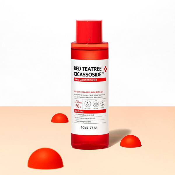 SOME BY MI Red Tea Tree Cicassoside Derma Solution Toner 150ml