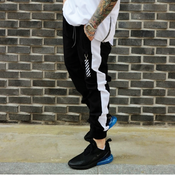 ✨ 10% Discount 💛 LAUL Men's Side Line Linen Jogger Pants Waist Banding Pocket Elasticity Black, , LAUL, KOREASTAGRAM- KOREASTAGRAM  |  BEAUTY IS IN OUR DNA