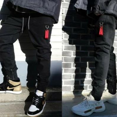 ✨ 10% Discount 💛 BTS Jungkook LAUL X B.T.D Comfortable Jogger Pants Pocket Waist Banding Black, , LAUL, KOREASTAGRAM- KOREASTAGRAM  |  BEAUTY IS IN OUR DNA