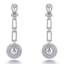 Load image into Gallery viewer, ART DECO DROP EARRINGS