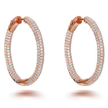 Load image into Gallery viewer, LARGE HOOP EARRINGS