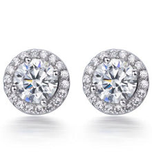 Load image into Gallery viewer, HALO STUD EARRINGS