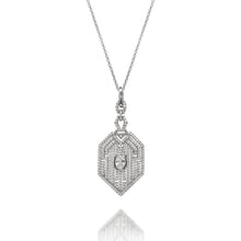Load image into Gallery viewer, ART DECO STYLE PENDANT