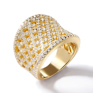 LATTICE CURVE RING