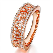 Load image into Gallery viewer, HALF FILIGREE BAND RING