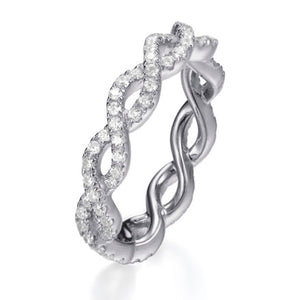 ENTWINED BAND RING