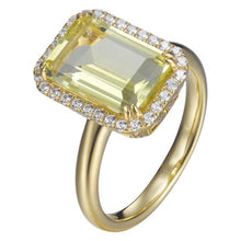 Load image into Gallery viewer, LEMON CITRINE RING