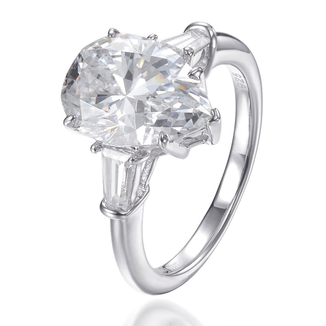 ALEXANDRA PEAR SHAPE RING