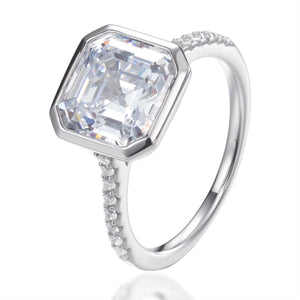 CHLOE ASSCHER CUT RING