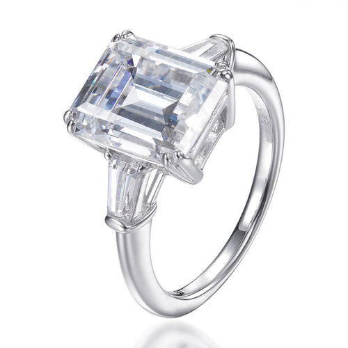 GRACIE EMERALD CUT RING