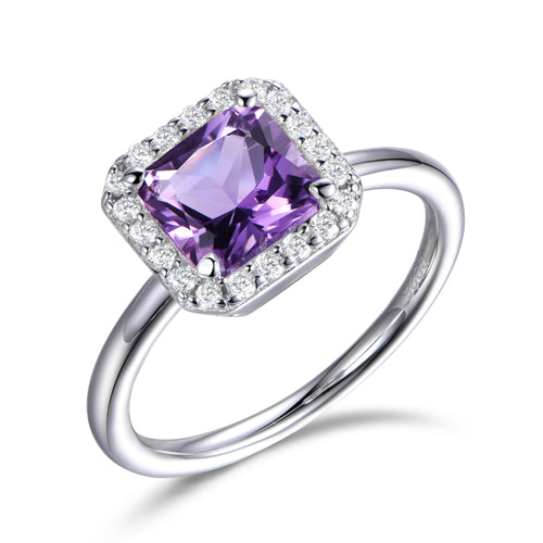 PURPLE HALO RING