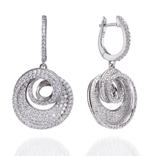 Load image into Gallery viewer, SPIRAL DROP EARRINGS