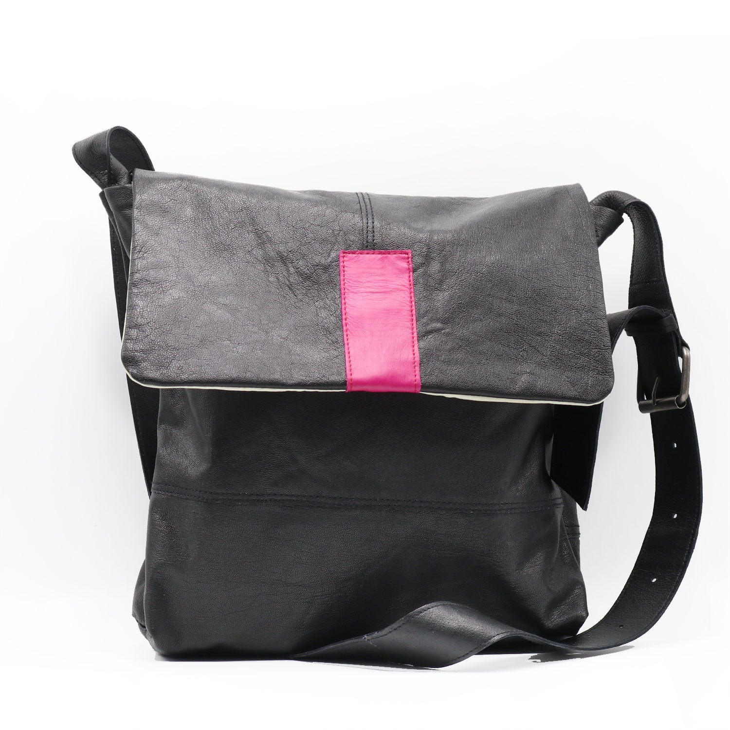 Ashpahlt Pink Large Shoulderbag
